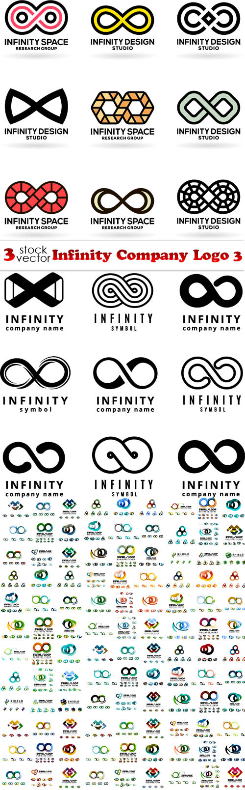 Vectors - Infinity Company Logo 3