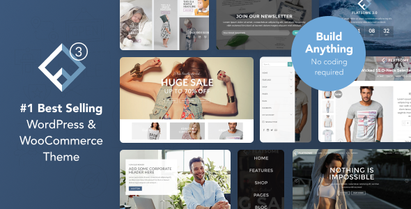 Flatsome v3.2.5 - Multi-Purpose Responsive WooCommerce Theme