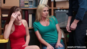 Shoplyfter 17 03 15 Christie Stevens And Nina Nirvana XXX 720p MP4-KTR