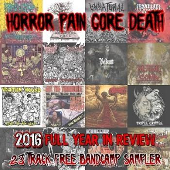 VA - HORROR PAIN GORE DEATH PRODUCTIONS (2016)