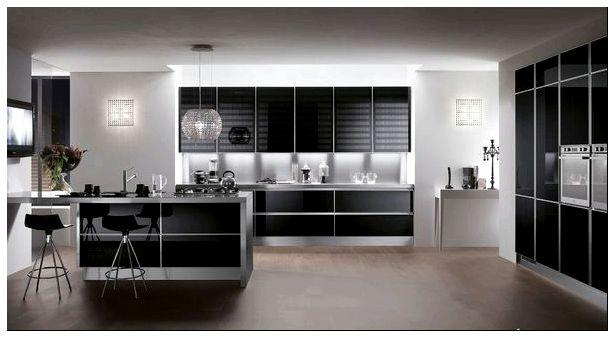 фото, дизайнерских, дизайнерских решений, Фото черных, Фото черных кухонь, черных кухонь