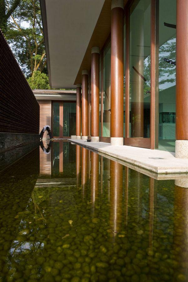 Проект дома на природе 21 Jervois Hil в Сингапуре