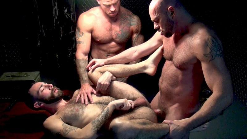 RawFuckClub – Matt Stevens, Sean Duran, Stephan Harte – Interrogation Fuck Down