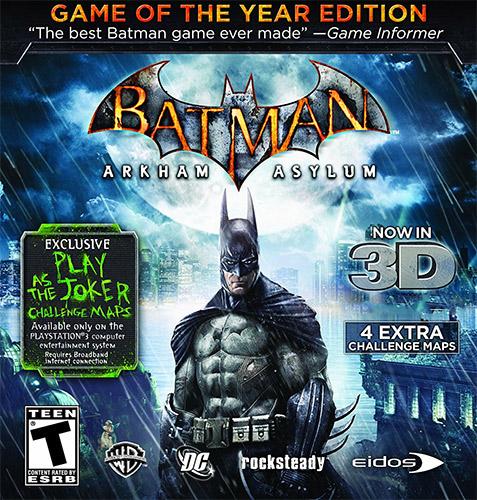 Batman: Arkham Asylum [+2 DLC] (2010)by FitGirl