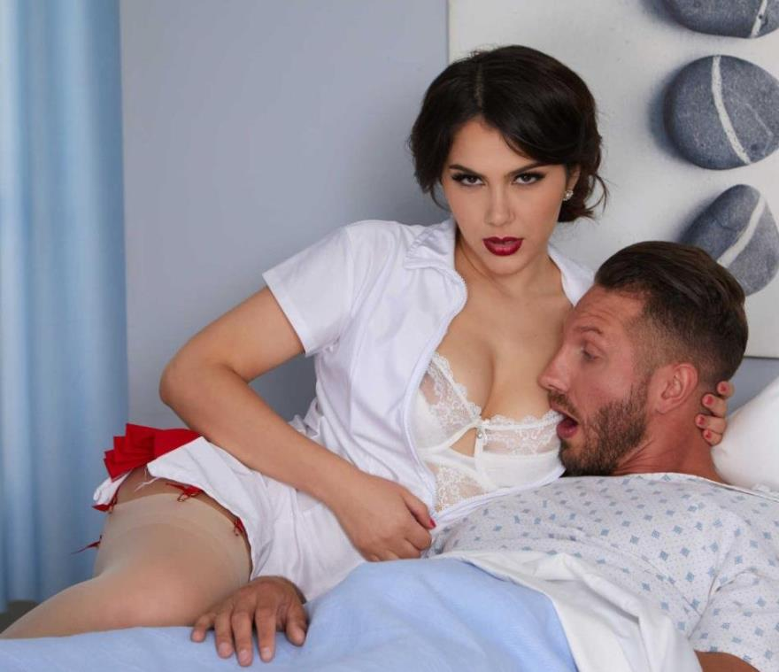 Nurse Valentina takes extra care of her patient - Valentina Nappi (2019 | SD)
