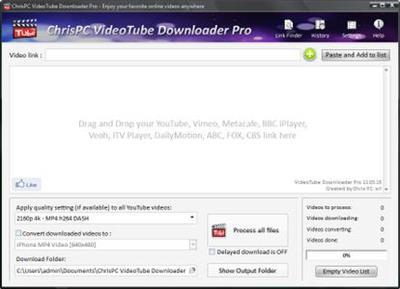 ChrisPC VideoTube Downloader Pro 11.10.10 Multilingual