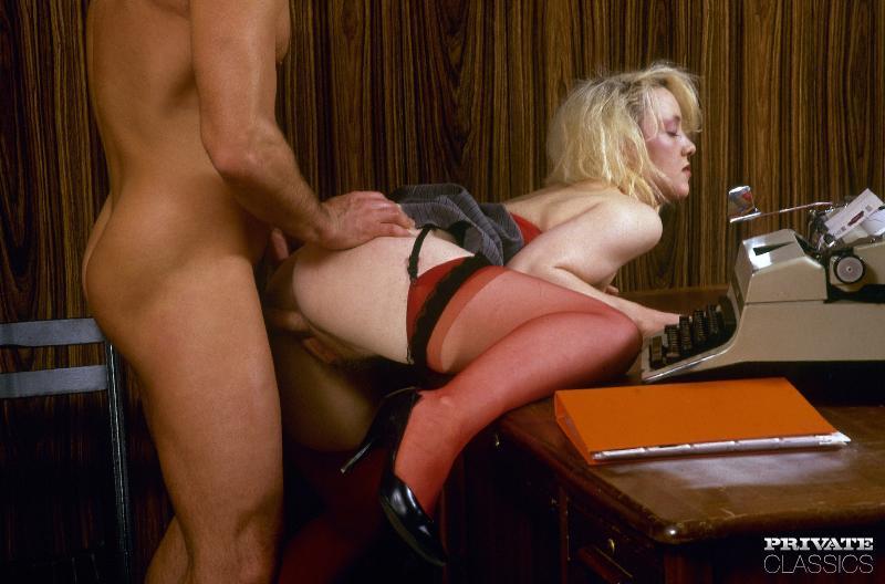 Порно Онлайн Ретро В Офисе
