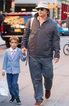 Восьмилетний красавчик может иметь светлое будущее в шоу-бизнесе с такими генами от папы-актера и мамы-фотомодели.