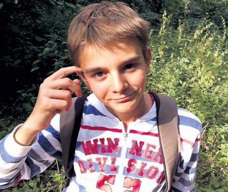 15-летний Кирилл - отрада бабушки