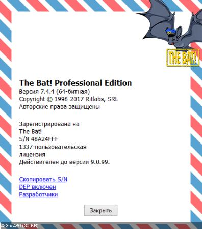 The Bat! Professional 7.4.4.0 Final RePack (& Portable) by KpoJIuK