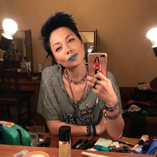 Гуманоид: лысая Настасья Самбурская взорвала сеть своим шокирующим фото