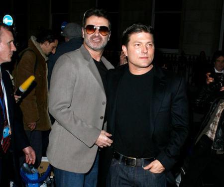 Джордж Майкл с другом