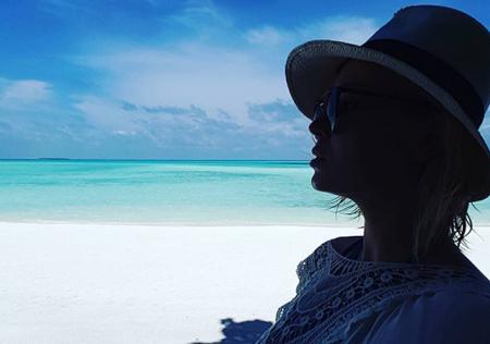 Романтические фотозаметки: Полина Гагарина и Дмитрий Исхаков отдыхают на Мальдивах