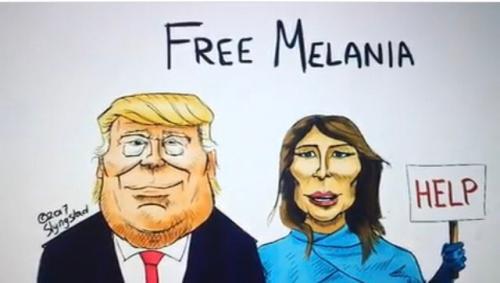 Пользователи соцсетей обеспокоены «депрессией» Меланией Трамп