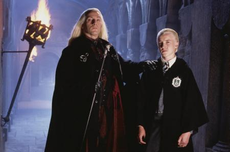 Люциус и Драко Малфой