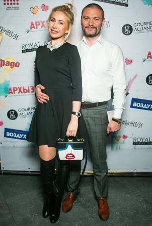 Анастасия Гребенкина с мужем