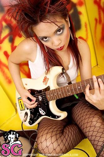 Sexy brazilian rubber fetish girls