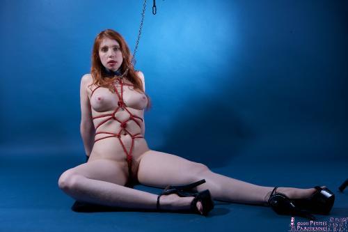 Female forced orgasm bondage