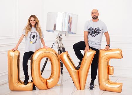 Анна Хилькевич и ее муж Артур Волков снялись в романтическом лукбуке ко Дню святого Валентина
