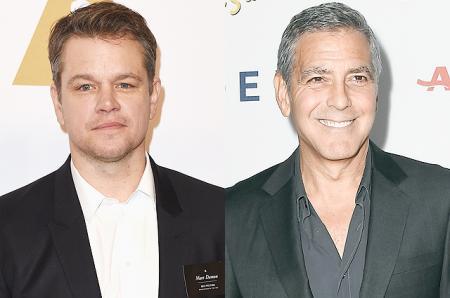 Мэтт Деймон рассказал, как уговаривал Джорджа Клуни никому не рассказывать о беременности Амаль Клуни