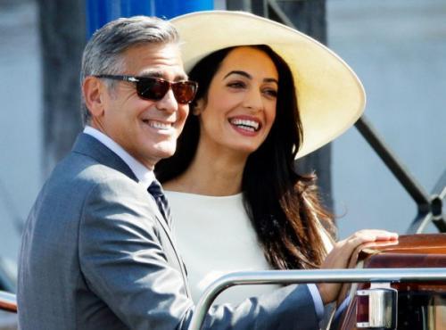Супруги Джордж и Амаль Клуни ждут двойню