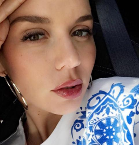 Анна Седокова испытывает странные ощущения во время беременности