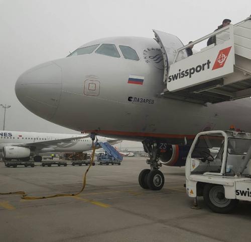 Сергей Лазарев назвал своим именем самолет