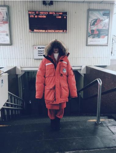 Светлана Ходченкова замерзла во время съемок в Ярославле