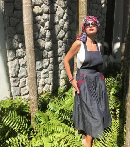 Ради фотосессии Эвелина Бледанс увеличила грудь