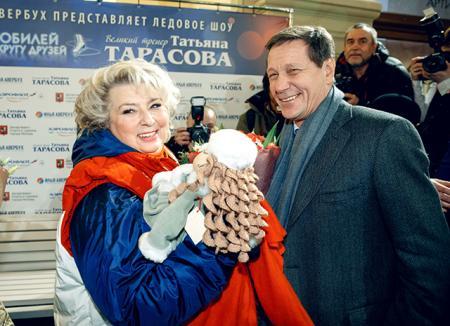 Татьяна Тарасова и Александр Жуков