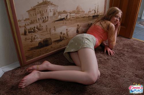 Gloria russian skinny teen girl
