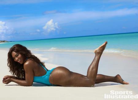 Серена Уильямс в фотосессии для Sports Illustrated: