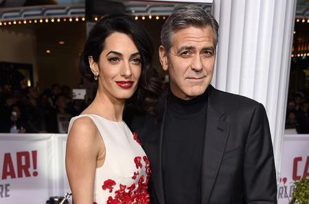 Кого ждут Амаль и Джордж Клуни: мать актера сообщила пол своих будущих внуков