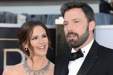 Дженнифер Гарнер подала на развод с Беном Аффлеком спустя два года после расставания