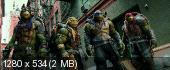 Підлітки-мутанти. Черепашки-ніндзя 2 BDRip 720p (60fps) {Ukr/Eng}