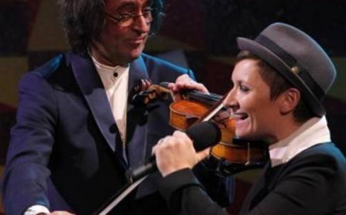 Диана Арбенина спела под аккампонимент симфонического оркестра Юрия Башмета