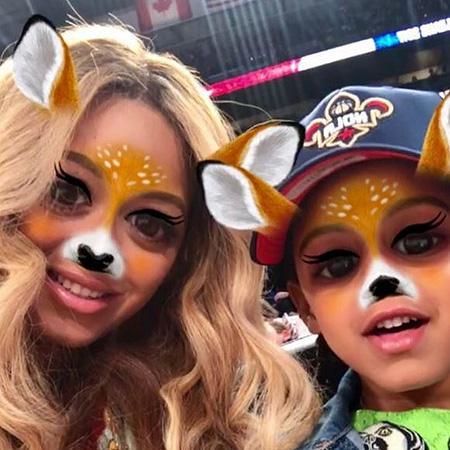 Фото из Instagram Бейонсе