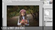 Сказочный детский портрет в Photoshop (2017) HDRip