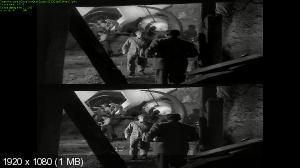 Это прибыло из космоса 3D / It Came from Outer Space 3D Вертикальная анаморфная стереопара