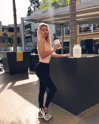 Виктория Боня подалась в спорт