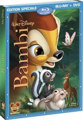 Бэмби / Bambi (1942) BDRip 720p