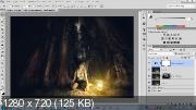Видеоуроки Лесная Фея в Photoshop (2017)