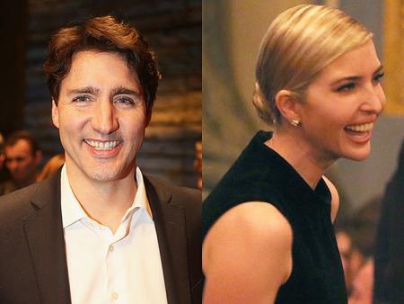 Иванка Трамп и премьер-министр Канады Джастин Трюдо провели вечер на Бродвее