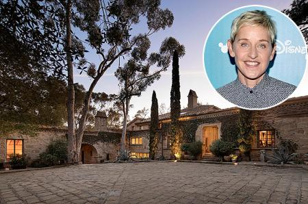 Эллен ДеДженерес продает дом в Санта-Барбаре за 45 миллионов долларов: фото владений телеведущей