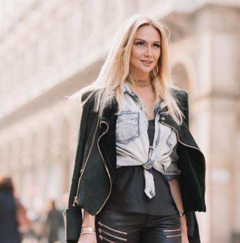 Виктория Лопырева повторила сексуальную сцену из фильма «Основной инстинкт»