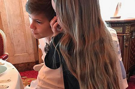 Ромео Бекхэм поделился милой фотографией с младшей сестрой в Instagram