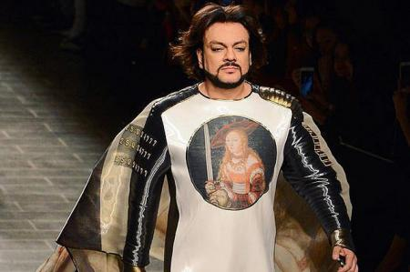 Филипп Киркоров представил на подиуме посвященную себе коллекцию одежды