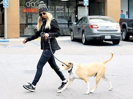 Собака Кейли Куоко устроила «большой взрыв»