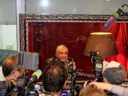 Борис Моисеев хочет работать в театре «Русская песня»