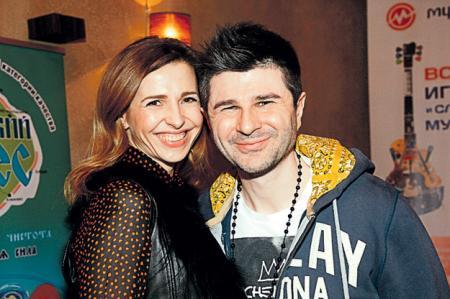 Гоша с женой Леной...